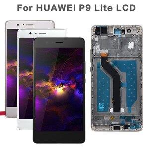 Image 1 - 5.2 LCD Originale Per HUAWEI P9 Lite Display Touch Screen Sostituzione con Cornice per HUAWEI P9 Lite Display LCD VNS L31 L21 L19 L23