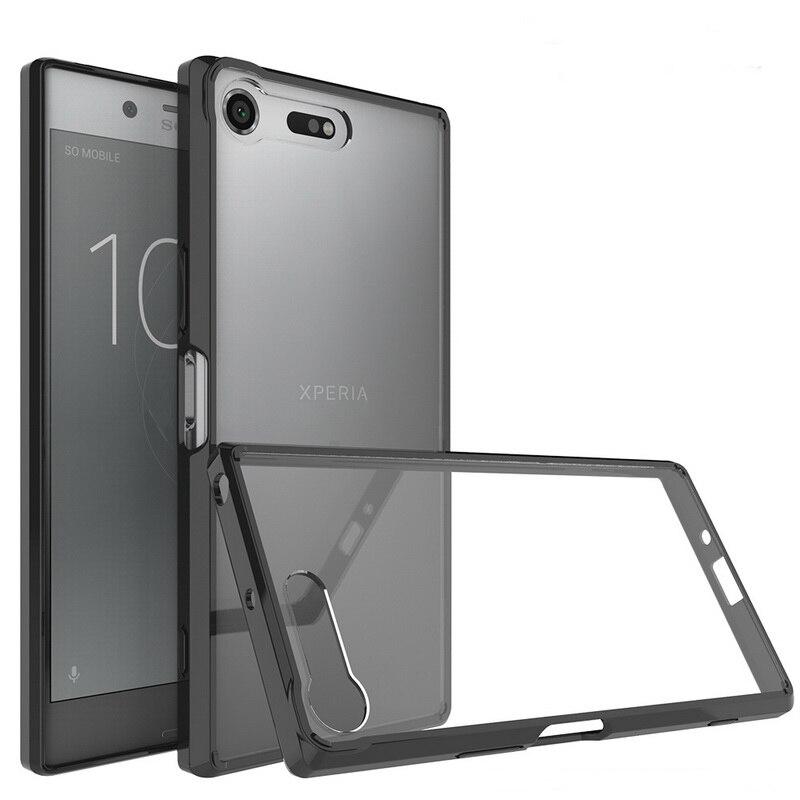 quality design 4ae86 f30da US $3.61 23% OFF|G8141 For Sony Xperia XZ Premium Case Cover Experia XZ  Premium Dual Coque Transparent Armor Phone Case XZ Premium G8142 lu308-in  ...