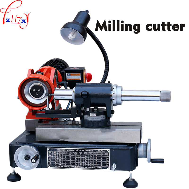 High precision milling cutter grinding machine GD-66 Rapid Milling cutter Tool grinding equipment 220V 1PC 1pc hhs cylindrical milling cutter d80 32 h100 milling tool inner hole 32mm
