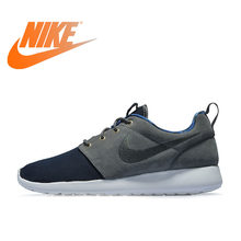 68fd900e55d4 Original Authentic NIKE ROSHE ONE PREMIUM Men s Breathable Running Shoes  Sports Outdoor Sneakers Comfortable Low-