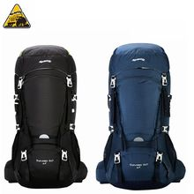 KIMLEE 50L Backpack Professional Rucksacks Camp Equipment Hike Gear For Mountaineering Climbin Trekking KCB4237