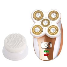 For Sonax Pro Lady Shaving Usb Charging Five-Head Floating Hair Remover Haircut Wash Face Brush