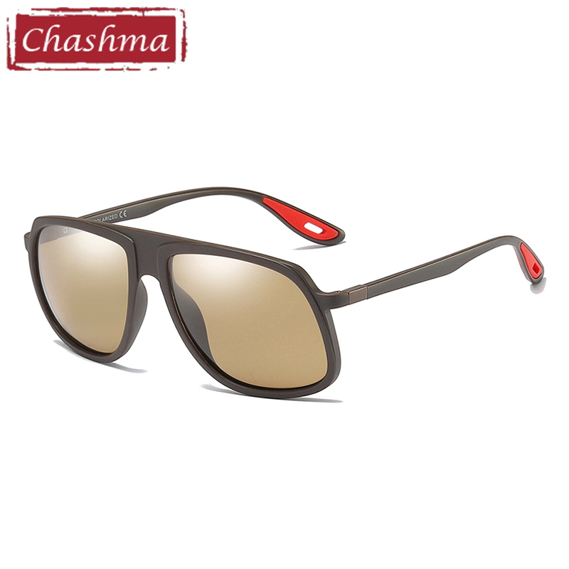 Marke Chashma Shades Color Driving Matte Black Gray Hd Polarisierte matte matte Uv400 Männer Lens Tr90 Classic customize Gafas Sport Coole Brown Polariod Sonnenbrille Stil Blue matte rrwzqv4