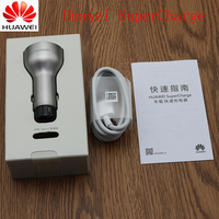Huawei Car Charger 4 5V 5A 9V 2A Dual USB Car Charger Fast Charge Adapter For