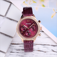 2019 Women Watch Fashion Casual Leather Quartz Ladies Watches Female gift & Chronograph