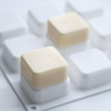 Квадратная силиконовая форма для мыла с 9 отверстиями инструмент
