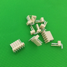 50pcs male right angle material KF2510 Connector Leads pin Header KF2510-AW Free shipping