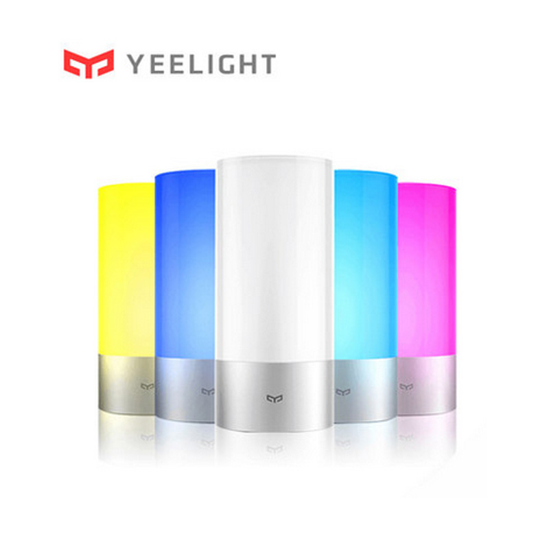 Original Yeelight Smart LED Light Lamp 16 Million RGB Touch Sensor Switch Bulb Smart Phone App Bluetooth Controller Bed Light