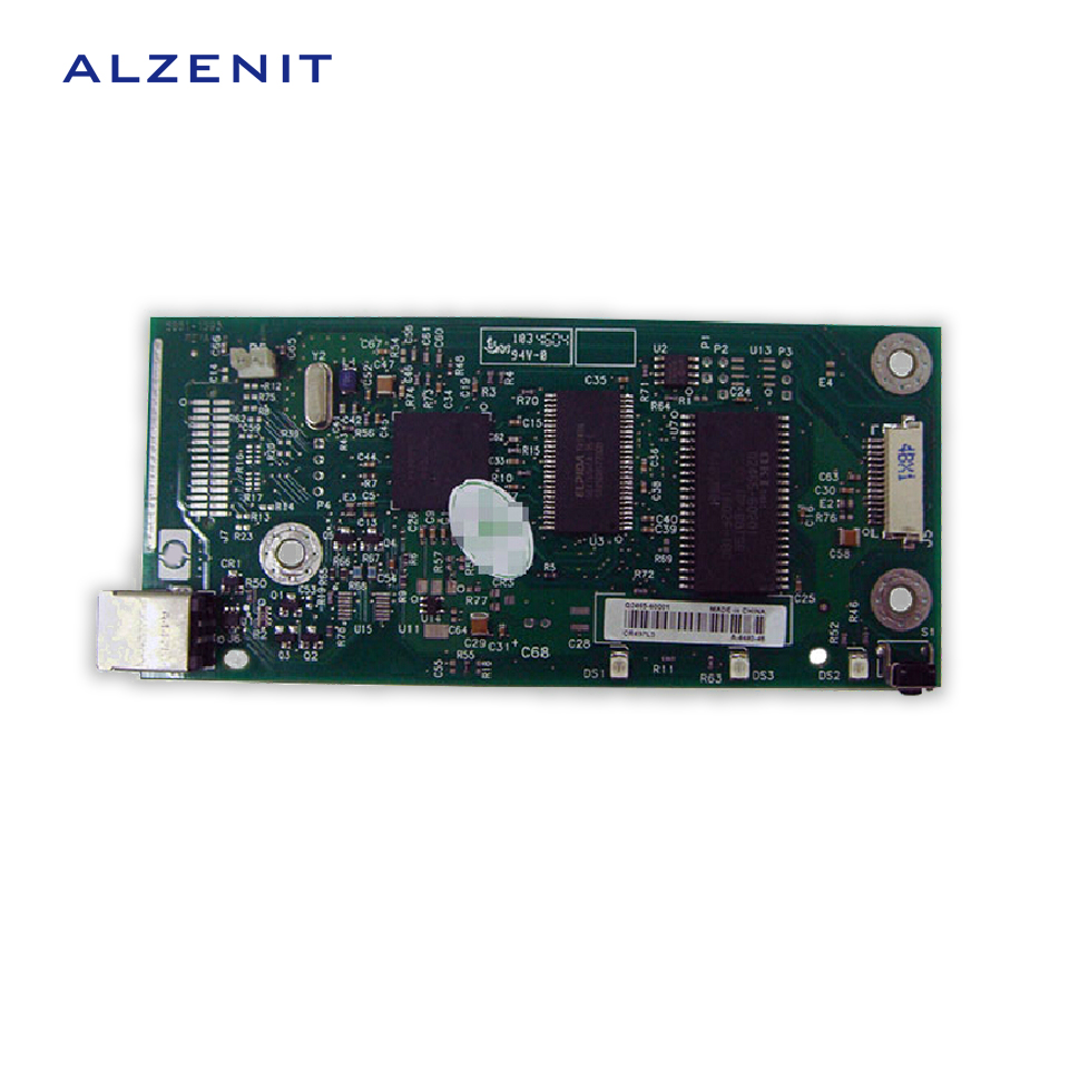 ALZENIT For HP 1010 1012 Original Used Formatter Board Q3649-60002 Q2465-60001 LaserJet Printer Parts On Sale q3969 60002 printer mother board for hp 1022n printer part formatter board quality assured in china supplier