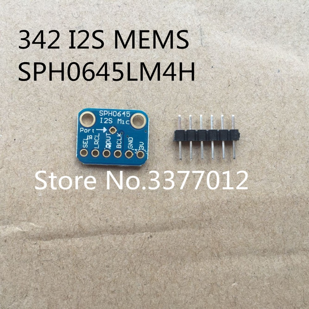 5pcs/lot 342 I2S MEMS Microphone Breakout Module SPH0645LM4H Microphone output winder