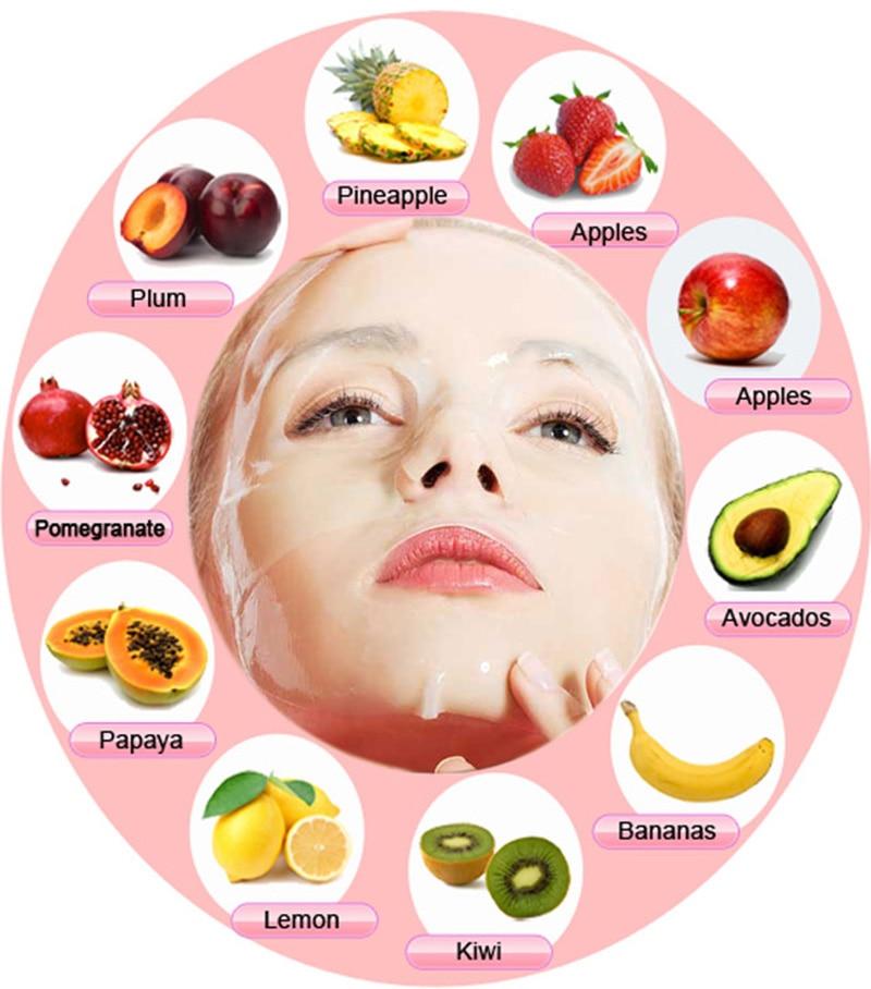 Fruit facial masks for acme
