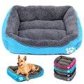 Кровать для собак  домик для маленьких собак  теплый флисовый диван для домашних животных  питомник  гнездо для щенков  кошек  кроватей  ковр...
