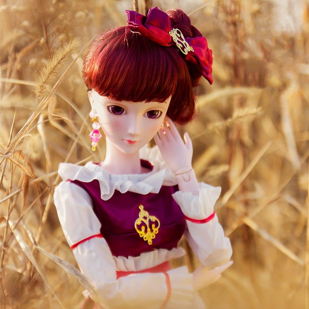 Nuit Lolita rêve de mariage nuit elfe poupée authentique Lolita princesse paon fée feuilles Lolita fille jouets pour enfants