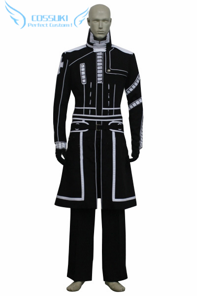 Newest High Quality D Gray Man Allen Walker Uniform Cosplay Costume Perfect Custom For You
