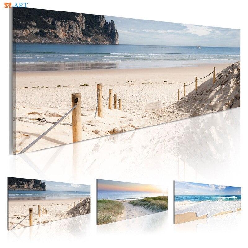Sandy Beach: Aliexpress.com : Buy Sandy Beach Print Seascape Poster