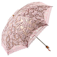 Princess Sun Umbrella Lace Parasol Umbrellas Arched UV Creative Folding Pongee Sunny Women S Umbrella Uv