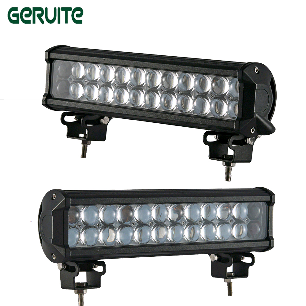 2pcs 72W 4D Car LED Light Offroad Work Light Bar for Jeep 4x4 4WD AWD Suv ATV 12v 24v Driving Lamp Motorcycle Fog Light