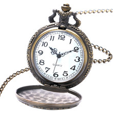 One Piece Bronze Quartz Pocket Watch