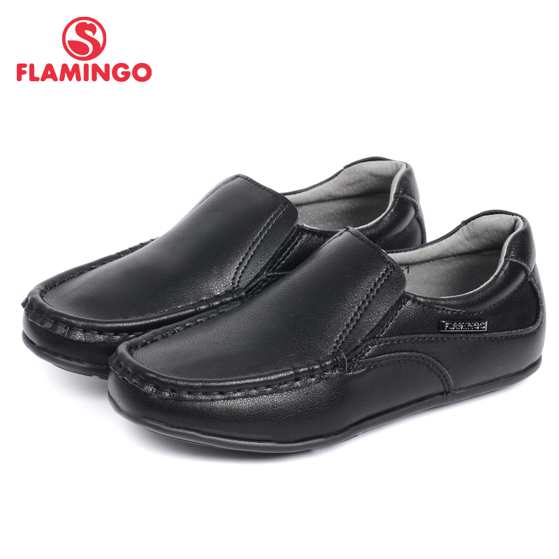 купить FLAMINGO 2016 new arrival spring & autumn kids shoes fashion high quality classic school shoes for boys 52-XT119-1 онлайн