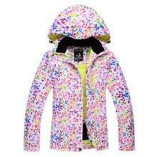Skiing jackets New Arrival Outdoor camouflage Snow Ski Snowboard Jacket women Winter Sport Ski Suit Warm Ski Clothing