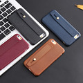 Soft Silicon Case For iPhone 6s 6 Plus 7 7 Plus 5 5s SE Cover Retro Stand Phone Cases Gel Rubber Leather Pattern Back Cover