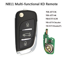 OkeyTech Original KD900 NB11 Universal Multi-functional DS Style NB Series Remote Control With 1PC NO.07/18/27/50 Key Blade(China)