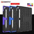 For Ipad Mini Pro 9.7 Case TPU + PC Cover Pad Stand Holder Tablet Holder Armor Fashion Shockproof Shell With Pen Protection