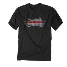 Black T-shirt CBR 600 900 929 954 1000 RR Racing Team MotoGP Men's shirt