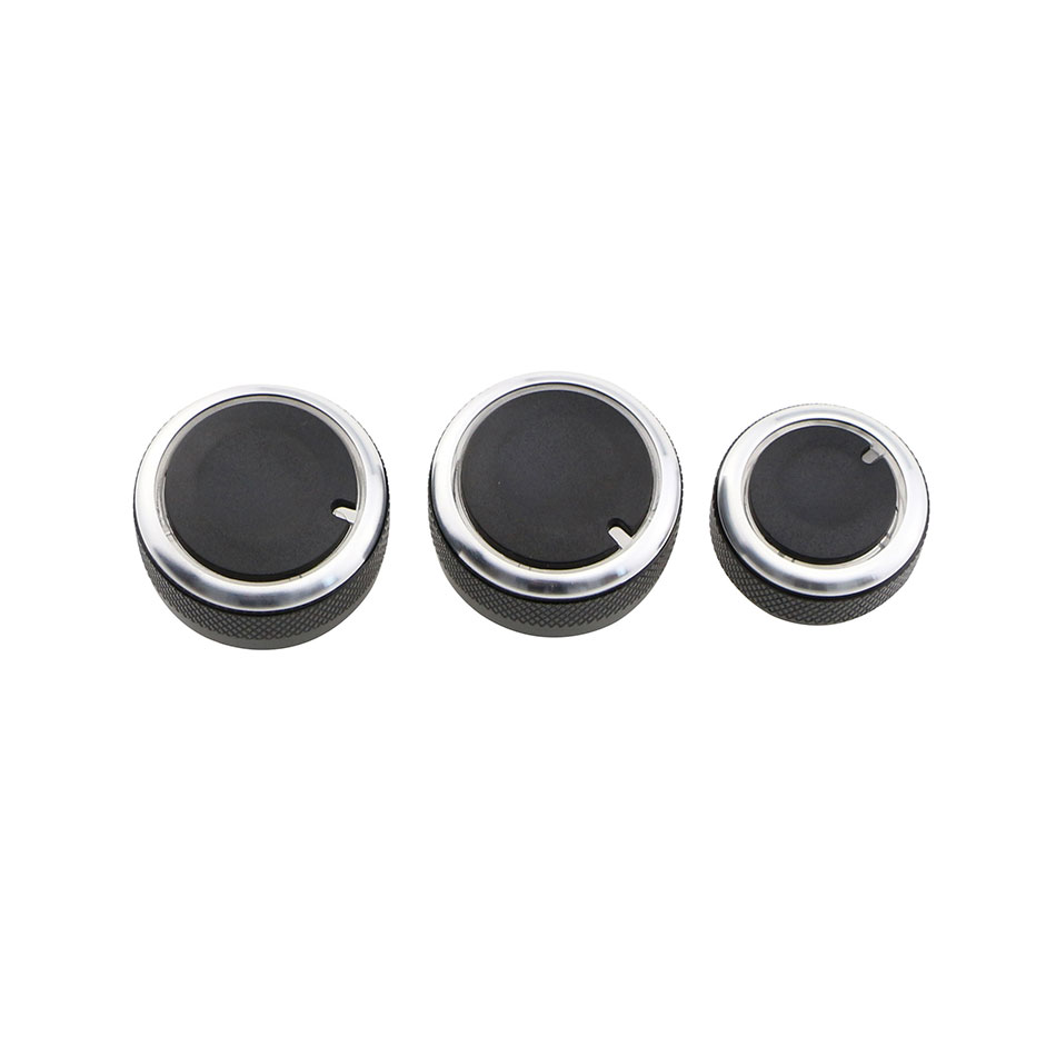 Image 5 - Carmilla 3 Pcs/Set Car Accessories for Volkswagen VW Caddy 2005   2010 Parts Air Conditioning Heat Control Switch AC Knob-in Car Stickers from Automobiles & Motorcycles