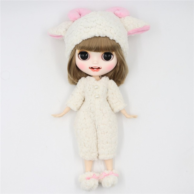 Isla – Premium Custom Blythe Doll with Clothes Smiling Face