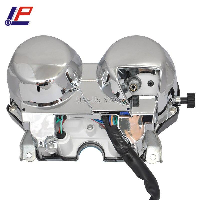 LOPOR Motorcykelmåler Speedometer Tachometer Odometer - Motorcykel tilbehør og dele - Foto 2
