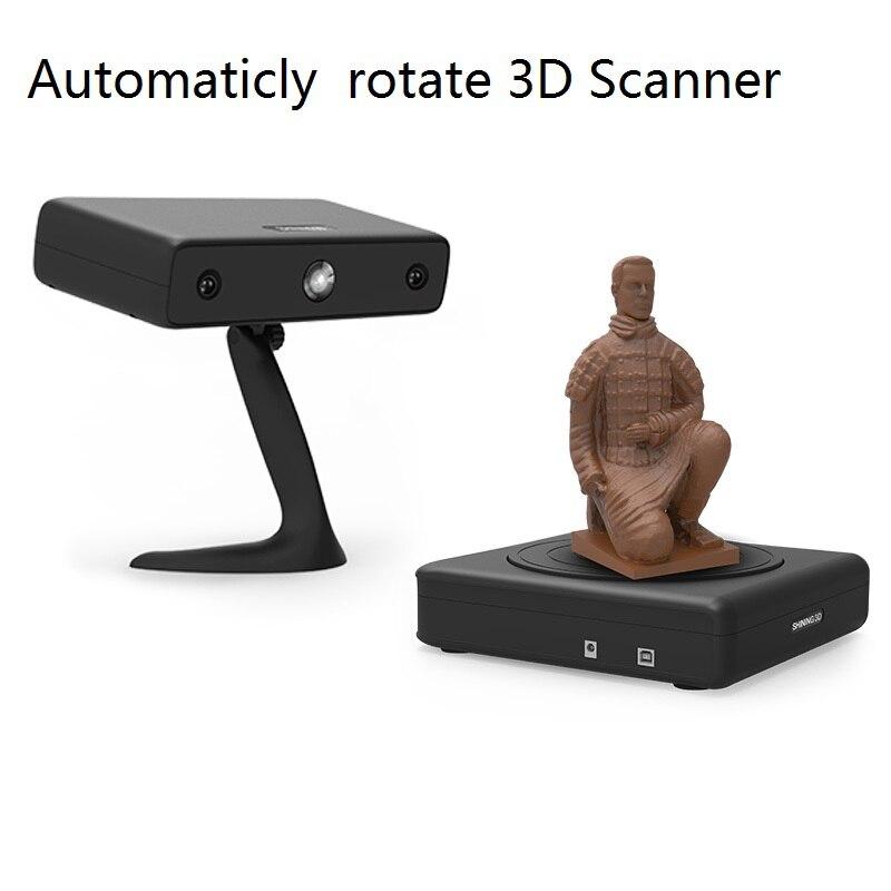 Scanner 3D à balayage rotatif automatique
