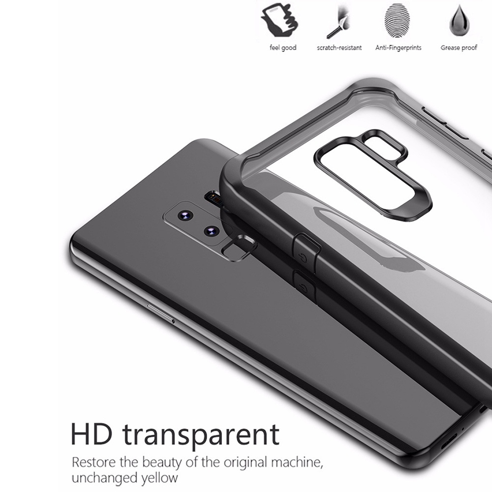 Image 4 - Heyytle Shockproof Case For Samsung Galaxy S9 S8 S10 Plus Note 8 9 Transparent Cover For Samsung A5 A6 A7 A8 2018 Armor Coque-in Fitted Cases from Cellphones & Telecommunications