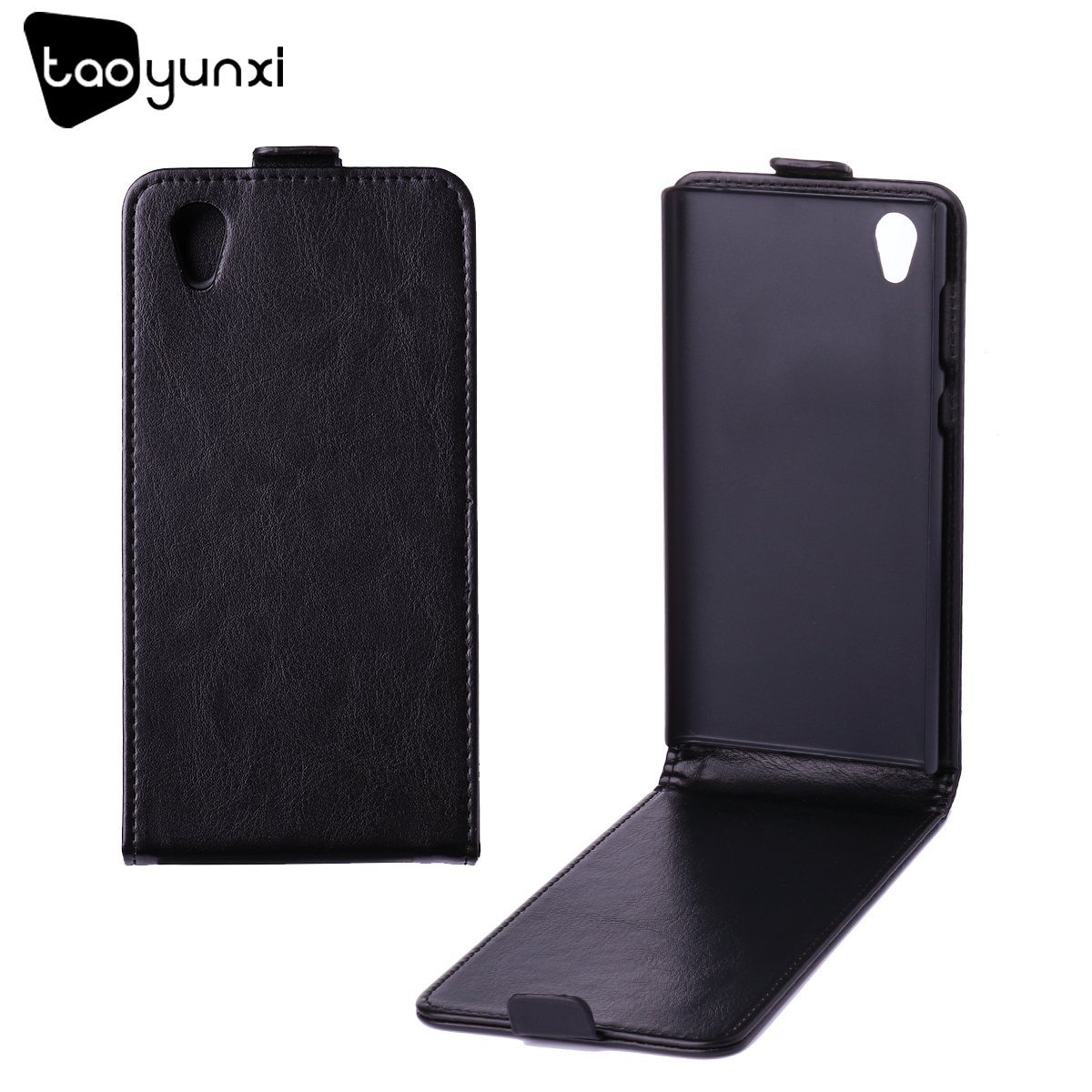 TAOYUNXI Flip Leather Phone Case For Sony Xperia L1 Sony L1 G3311 G3312 G3313 Sony Xperia E6 Dual 5.5 Inch Plastic Cover Fundas