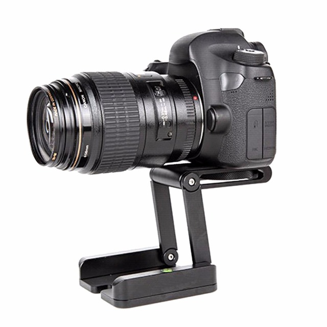 Z Type Multifunctional Foldable Ball Head Desktop Bracket Head Stand Holder Quick Release Plate For Camera Tripod Rail Car