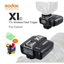 цена на Godox X1C E-TTL 2.4G Wireless Flash Trigger For Canon EOS DSLR 6D 7D 60D 650D 700D 5DIII TT685C V860C Flash Speedlite