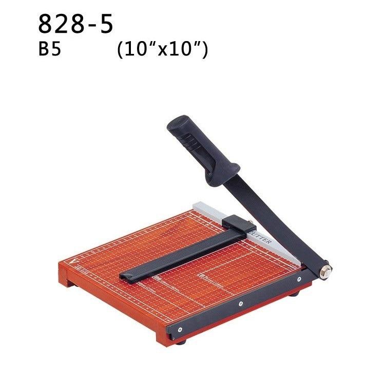 2016 nova b5 foto cortador de papel guilhotina maquina de corte aparador de madeira base de