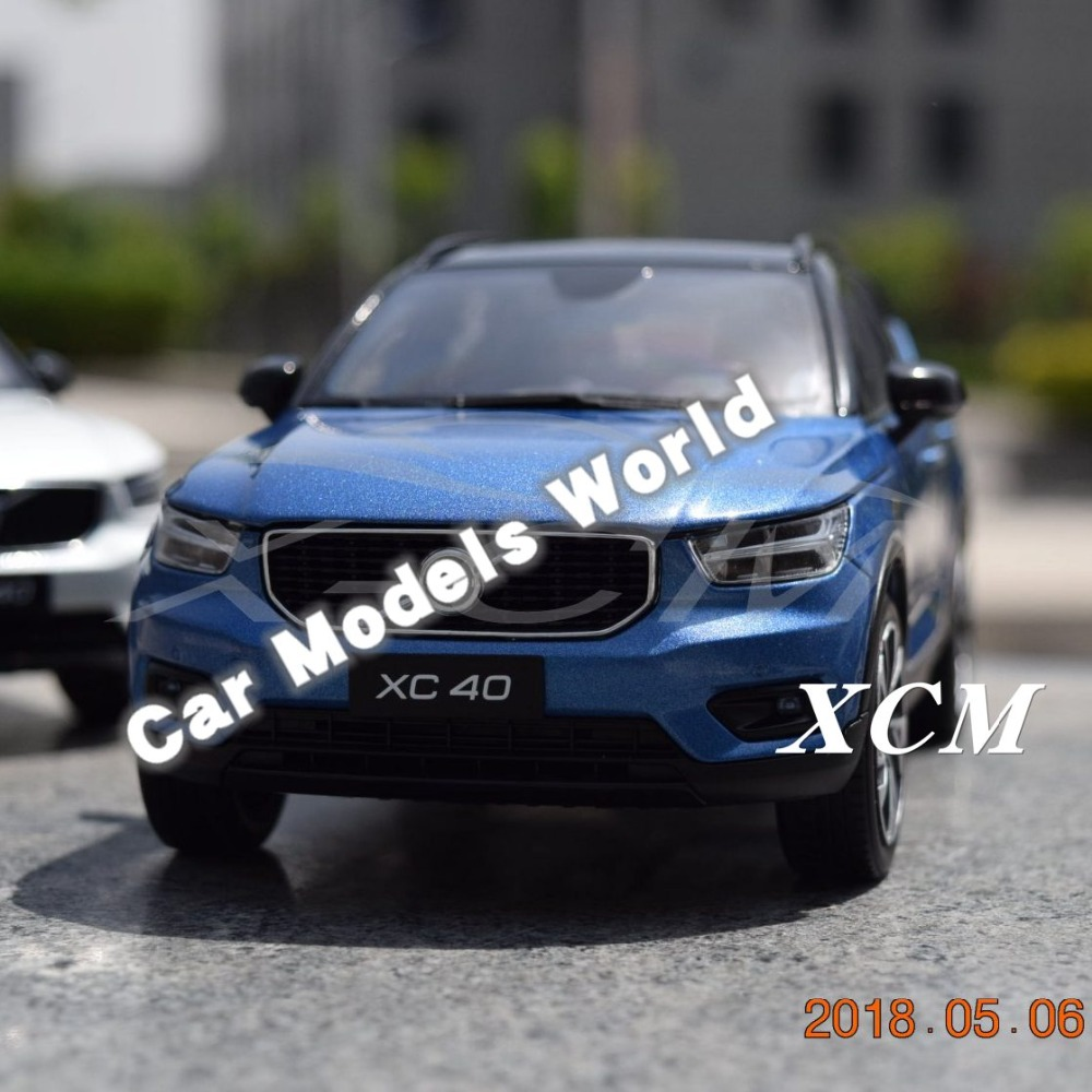 Diecast Car Model for XC40 1 18 Blue SMALL GIFT