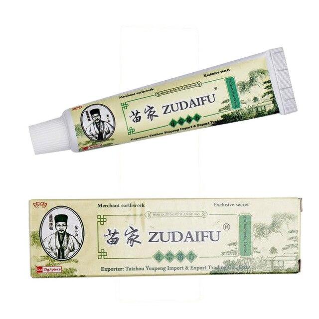 Dropshipping Zudaifu Pele Psoríase Creme Eczematoid Dermatite Eczema Tratamento Pomada Psoríase Creme Cuidados Com A Pele