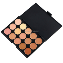 Professional Natural Fashionable Concealer Palette 15 Colors  Beauty Face Cream Salon Party Concealer The Contour Face Cream