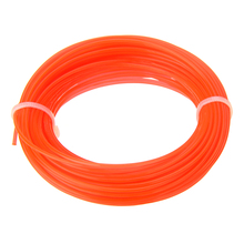 1pc 15m x 1.25mm Nylon Trimmer Line Grass Cutter Rope Trimmer Roll Cord Wire String for Grass Strimmer Replacement