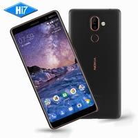 Новый оригинальный Nokia 7 Plus 4G RAM 64g ROM Android 8 Snapdragon 660 Octa core 6,0 ''2160x1080 P 18:9 3800 мАч Bluetooth 5,0 16.0MP