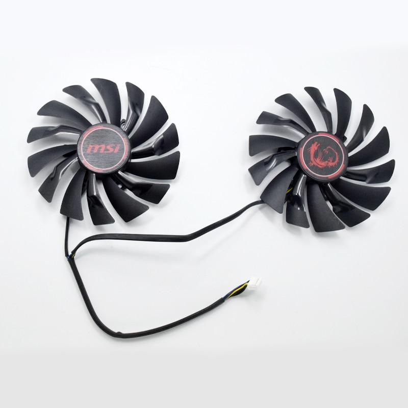 HOT SALE] NEW 95mm PLD10010S12HH DC12V 4PIN GPU Cooler fan