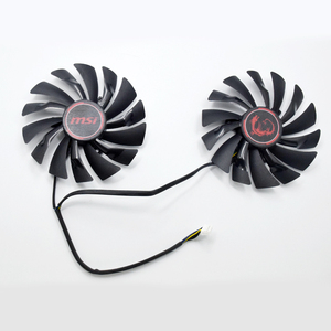 New 95MM PLD10010S12HH 4Pin Cooler Fan Replacement For MSI Radeon R9 380 Armor 2X GTX 1060 970 RX580 Graphics Video Card Cooling(China)