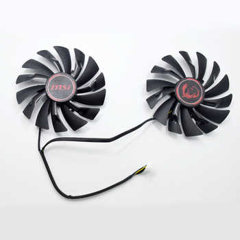 New 95MM PLD10010S12HH 4Pin Cooler Fan Replacement For MSI Radeon R9 380 Armor 2X GTX 1060 970 RX580 Graphics Video Card Cooling - DISCOUNT ITEM  10% OFF All Category