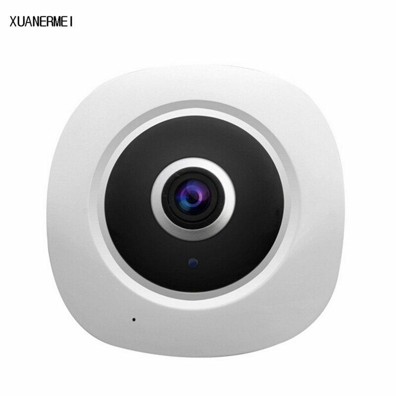 XUANERMEI VR Fisheye IP Camera 720P 360 Degree Panoramic IP Camera multi view View mode suport for two way radio sd card record