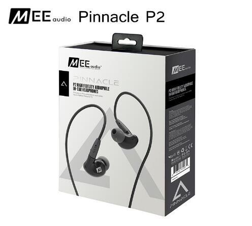 New MEE audio PINNACLE P2 High Fidelity Audiophile In-Ear Headphones with Detachable Cables HIFI Bass Noise Isolating Earphones audio technica audiophile open air headphones