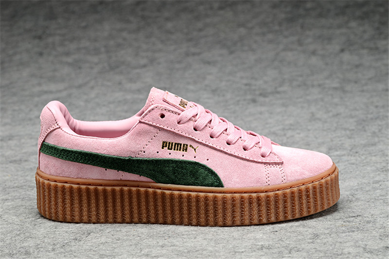8e12227642f2 Dropwow New arrive Puma by Rihanna Suede Creepers women s and men ...