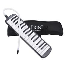 XFDZ-IRIN 1 компл. 32 КЛЮЧ Фортепиано стиль мелодика с коробкой орган аккордеон рот кусок Удар ключ доска(черный