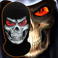 Grim Reaper Mask Flame Eyes Skeleton Skull Winter Balaclava Ghost Warmer Sports Motorcycle Cycling Ski Halloween Full Face Mask